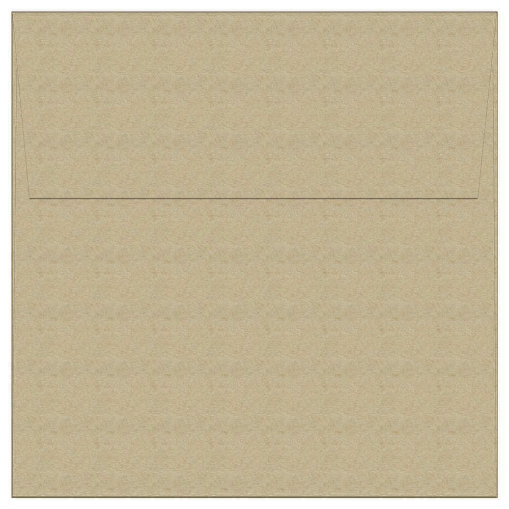 "50 Kraft Square Envelopes - 5.5"" x 5.5"" - Square Flap"