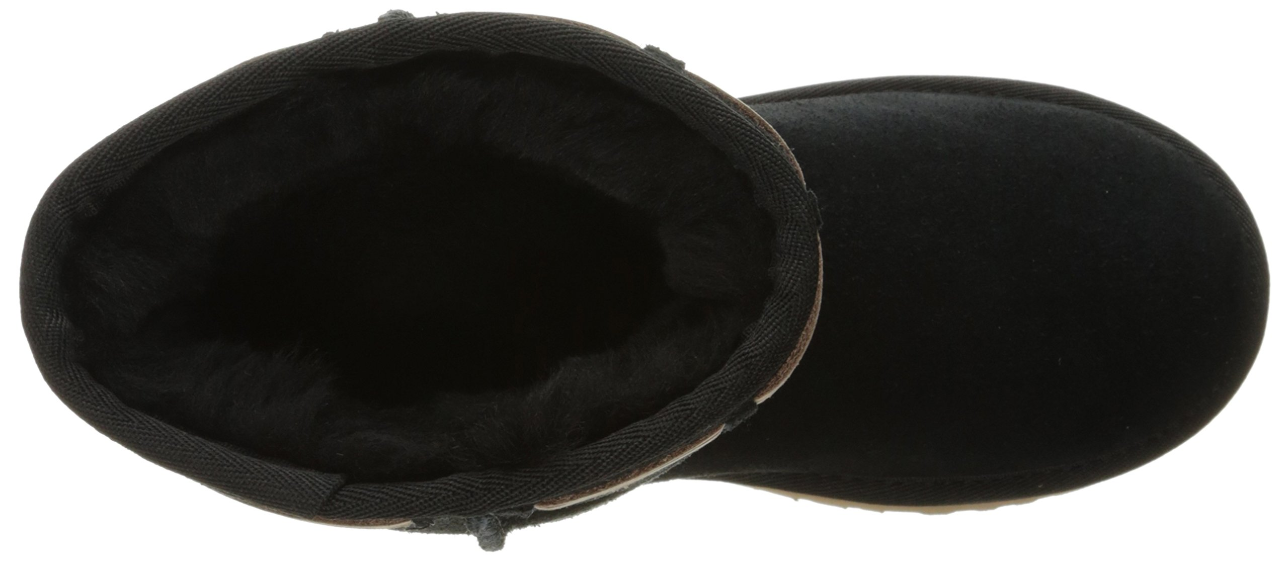 UGG Kids' K Classic Short Carranza Pull-on Boot, Black, 2 M US Little Kid by UGG (Image #8)