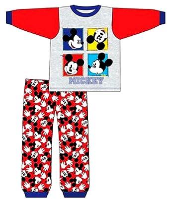 de5212a6caf88 Mickey Mouse - Ensemble de Pyjama - Bébé (garçon) 0 à 24 Mois Rouge ...