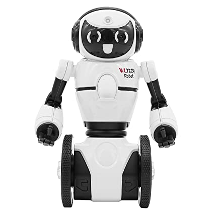 Amazon Com Remote Control Rc Robot Toys Intelligent Self Balancing