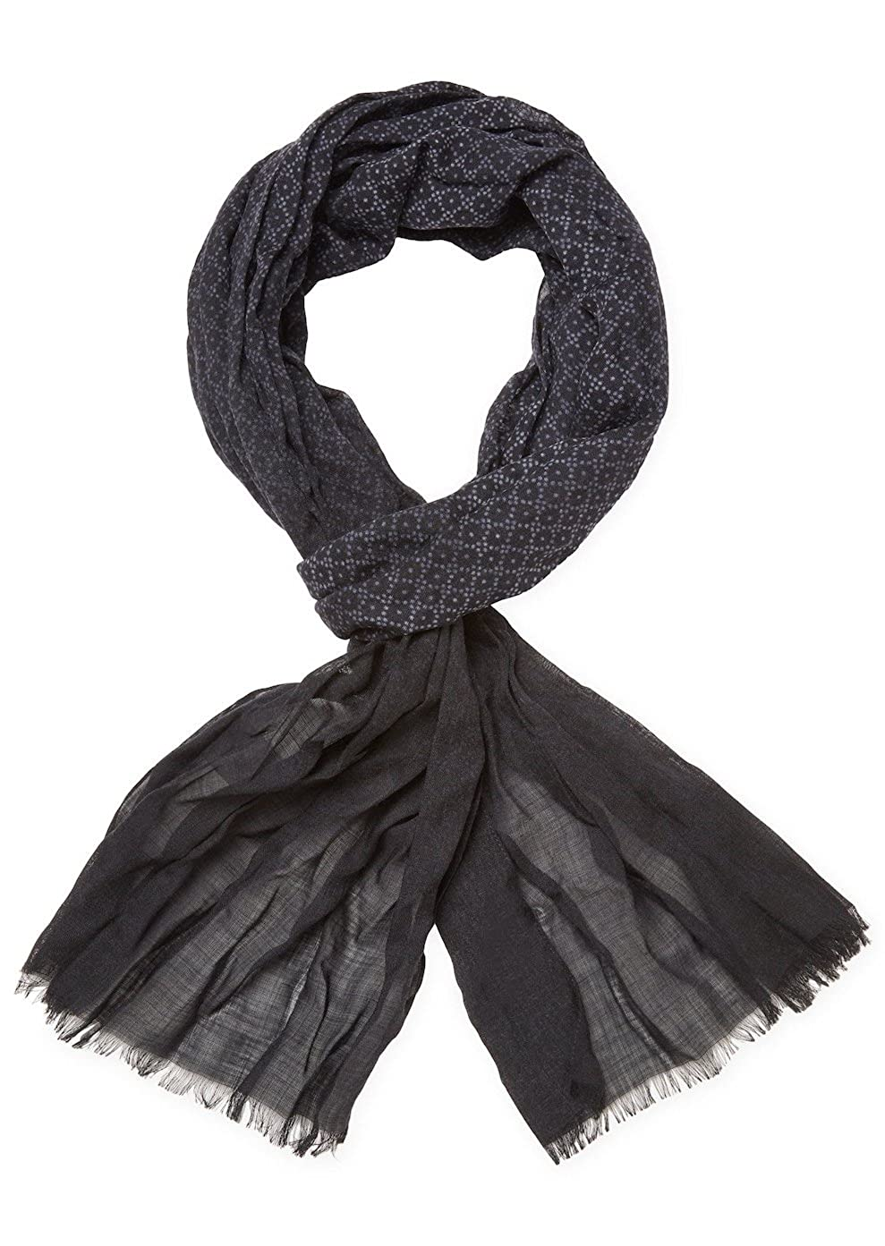 John Varvatos Collection Men's Ombre Print Wool Scarf V941S3-BECO