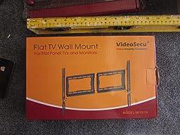 Amazon Com Videosecu Low Profile Tv Wall Mount Bracket