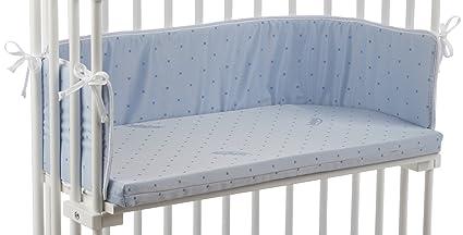 Babybay 100505 - Colchón para cuna de colecho, color azul claro [Importado de Alemania