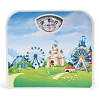 Belita Bps-M-1106 Square Display - Large Surface Personal Analogue Weighing Scale - 120 Kg - Fantasy
