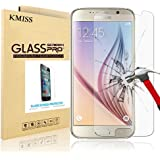 Samsung Galaxy S6 Screen Protector, KMISS [Tempered Glass] with [0.3mm Ultra Thin 9H Hardness 2.5D Round Edge] Lifetime Replacement Warranty (for Galaxy S6)