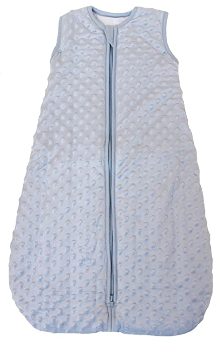 "Baby Sleeping Bag ""Minky Dot"