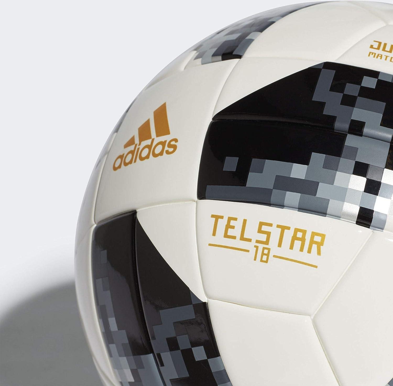 adidas World Cup J290 Balón, Hombre, Blanco/Negro/Plamet, 5 ...