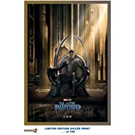 Lost Posters RARE POSTER marvel BLACK PANTHER movie 2018 giclee REPRINT #'d/100!! 12x18 S2