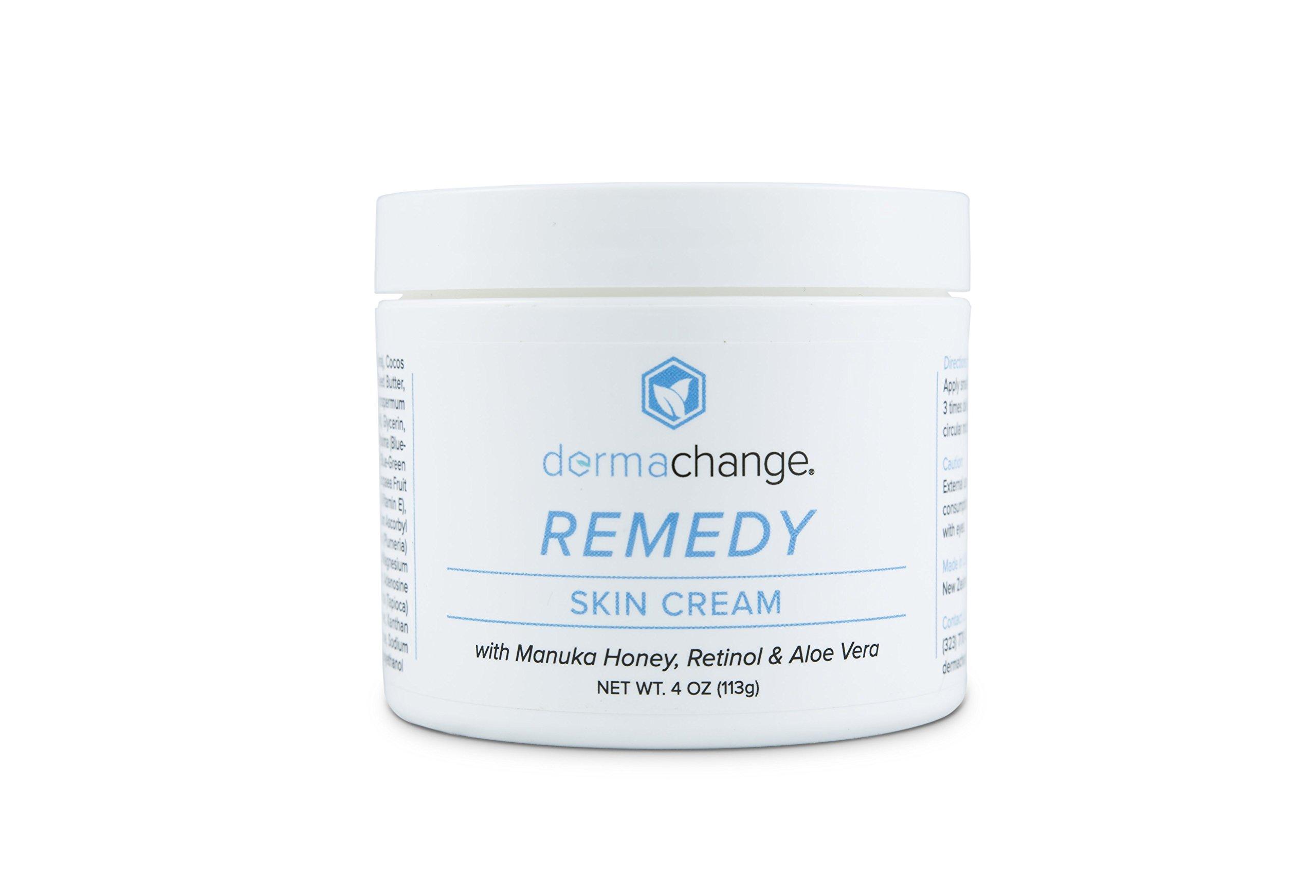 Organic Tightening and Moisturizing Retinol Skin Cream - For Face and Body - Anti Aging - Night And Day Cream For Men and Women - Redness, Skin Rash & Ezcema Treatment (4oz) - Made in USA