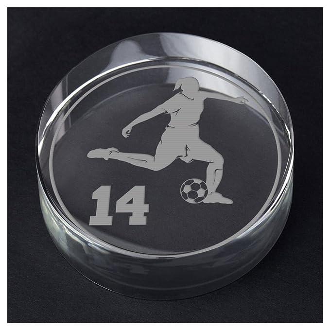 Amazon.com: chalktalksports fútbol personalizado regalo de ...