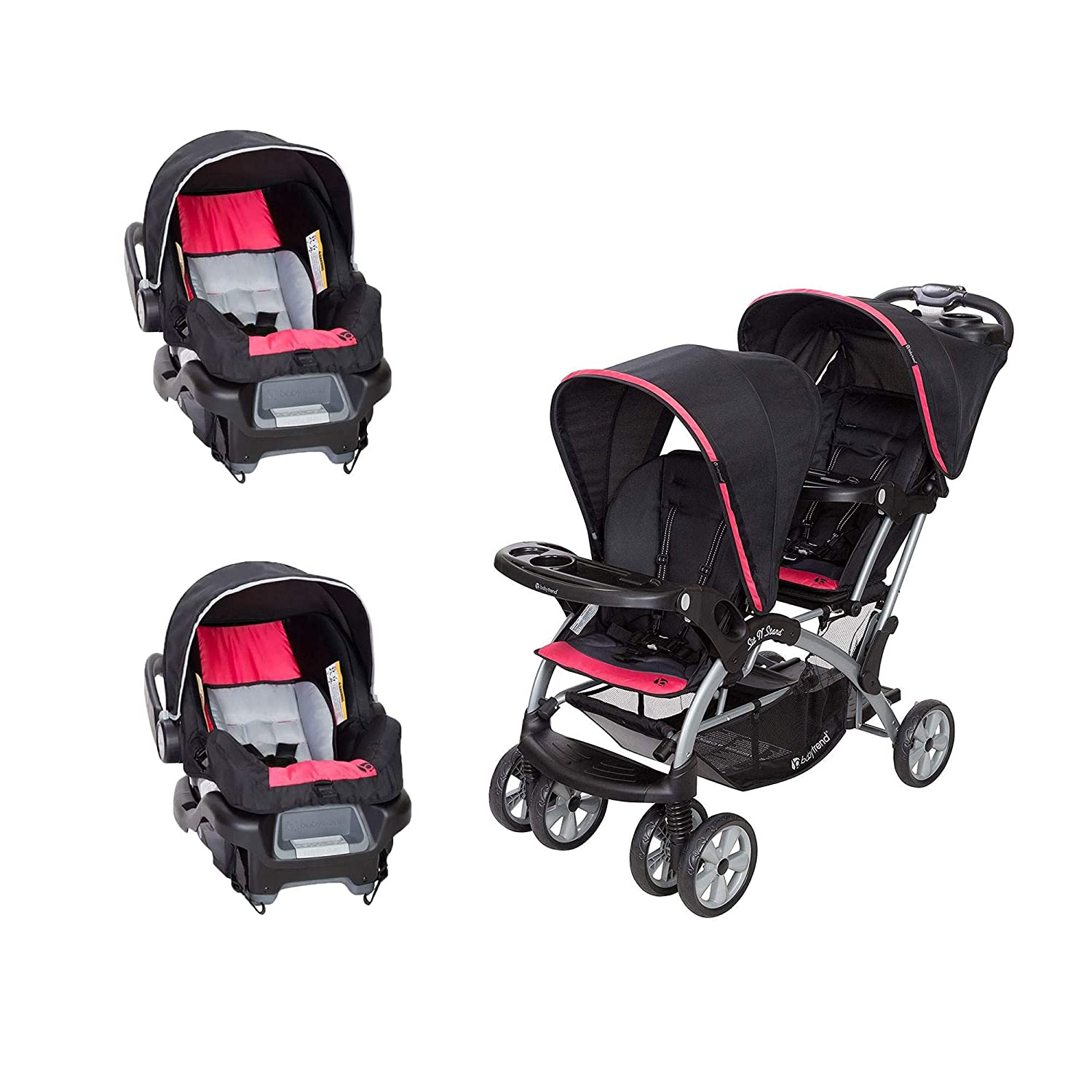 Amazon Com Baby Trend Sit N Stand Easy Fold Baby Double
