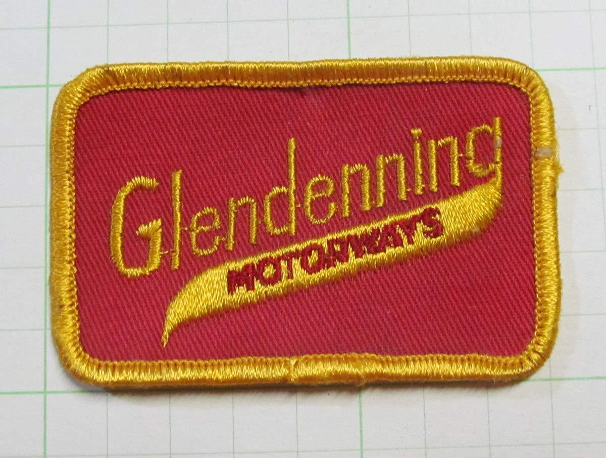 60's グレンデニング モーターウェイ ワッペン パッチ NASCAR   B07SJLTBCJ