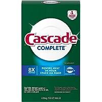Cascade Detergente de Polvo Completo, Aroma Fresco (155 oz.)
