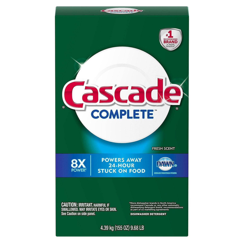 Cascade Completeパウダー食洗機洗剤、Fresh Scent ( 155オンス) B01MZDJ49B