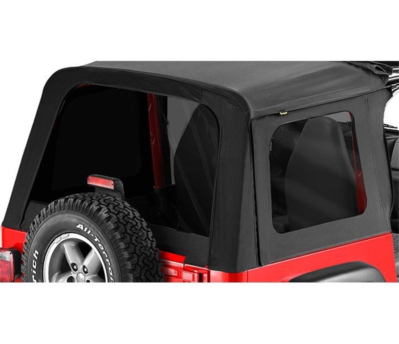 Bestop 58698-15 Black Denim Tinted Window Kit for Sunrider for 1976-1995 CJ7 and Wrangler YJ