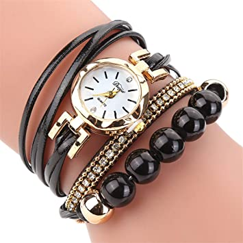 New Fashion Watches Women Flower Popular Quartz Watch Bracelet Women Dress Lady Gift Flower Gemstone Wristwatch