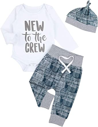 Newborn clothes for bebes style letter printed casual baby boy clothes baby