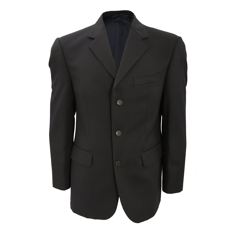 Brook Taverner Mens Alpha Suit Jacket Single Breasted 3 Button