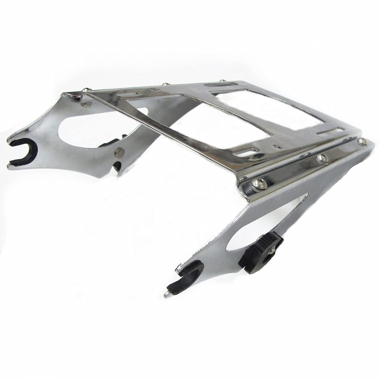 Chrome Detachable 2 Up Tour Pak Pack Mounting Rack for Harley Touring 2009-2013 by EGO