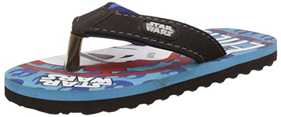 Star Wars Boy's Flip-Flops and House Slippers Boys' Flip-Flops & Slippers at amazon