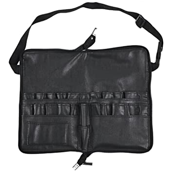 Amazon.com  Professional Makeup Artist Cosmetic Makeup Brush Brush Tool Belt  Strap PU Makeup Waist Bag  Beauty 344857e7a3146