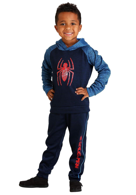 Isaac Morris Ltd Boys Spider-Man Hoodie Sweatshirt and Pants Set