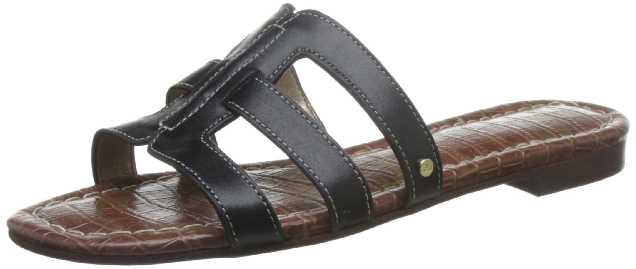 Sam Edelman Women's Berit, Black Leather, 8.5 M US