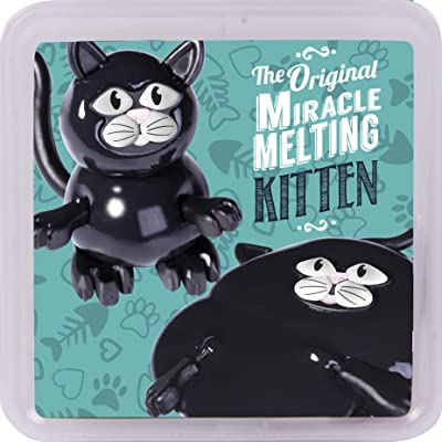 Two's Company Melting Kitten - Putty Slowly Melts Over Approx 30 Minutes - Fun Novelty Toy : Baby