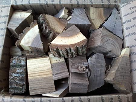 Cherry Wood Chunks for Smoking BBQ Grilling Cooking Smoker Free Priority Ship