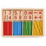 Image Result For Baoblaze Bois Montessori Mathematiques Materiel Additon Et Subtration Mini Famille Set