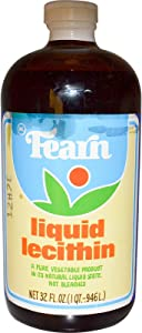 Liquid Lecithin Fearn Natural Foods 32 oz Liquid