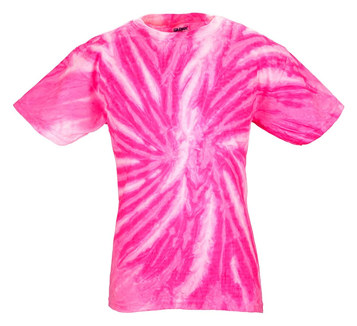 Bubble Gum44; Large Tie Dye H1100B Youth Twist Tie-Dyed Tee
