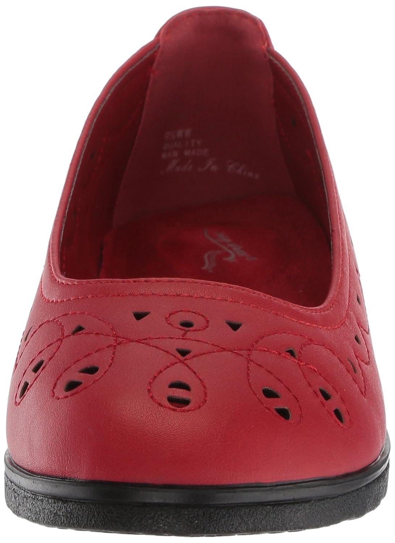 Easy Flat Street Women's Alfie Ballet Flat Easy B077ZKYTLN 11 W US|Red 34bc76