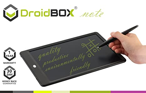 Amazon.com : DroidBOX Note 10 Inch LCD Writing Tablet Drawing ...