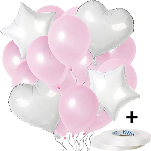 14PCS Latex Foil Balloons for Wedding Birthday Baby Shower Christmas Party Decor
