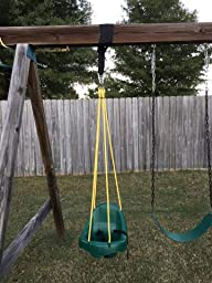 Tree swing hanging kit by royal oak single 4 Wood tree swing and hanging kit