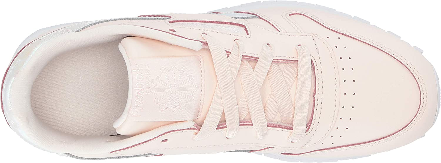 Reebok Classic Leather Shoe (Infant/Toddler) Rose Pâle/Blanc.