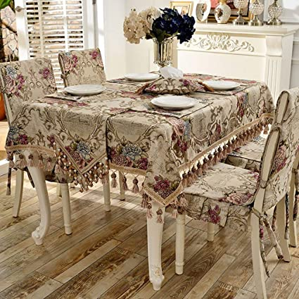 Admirable Amazon Com Wenjun Tablecloth European Style Table Cloth Pabps2019 Chair Design Images Pabps2019Com