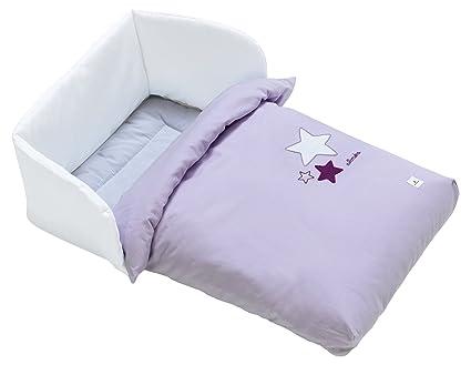 Alondra 658-075 - Saco minicuna de colecho bebé y colecho cama, color lila