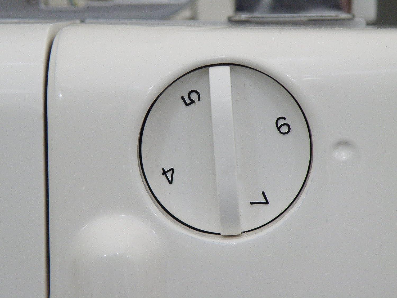 Máquina de Coser Overlock Jaguar 097 2/3/4/ Hilo, con Alimentación / Transporte Diferencial + 5 Pies GRATIS: Amazon.es: Hogar