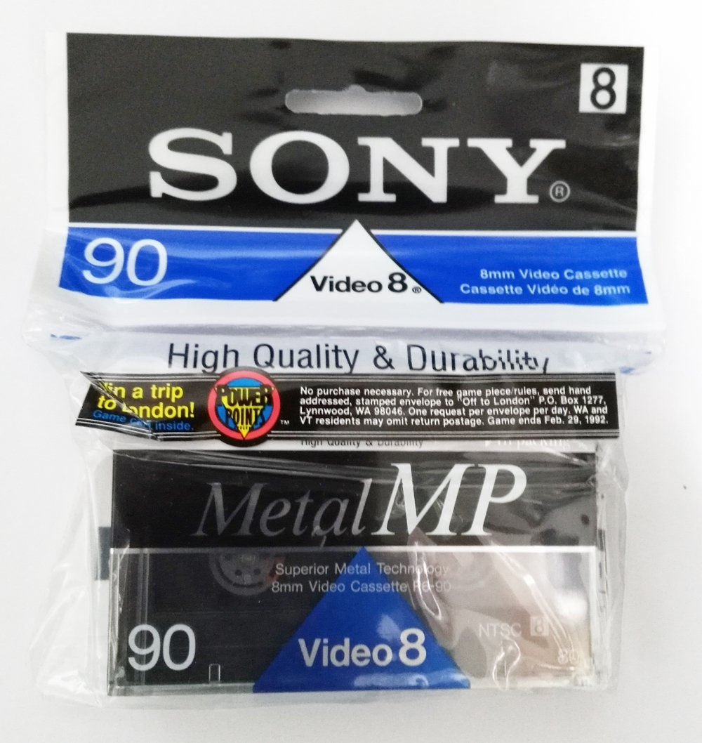 Amazon.com: Sony Metal MP 90 8mm Video Cassette P6-90MPF: Home Audio & Theater