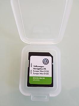 SD Card GPS Europe 2018 V10 - RNS 310 (3C8051884DD): Amazon co uk