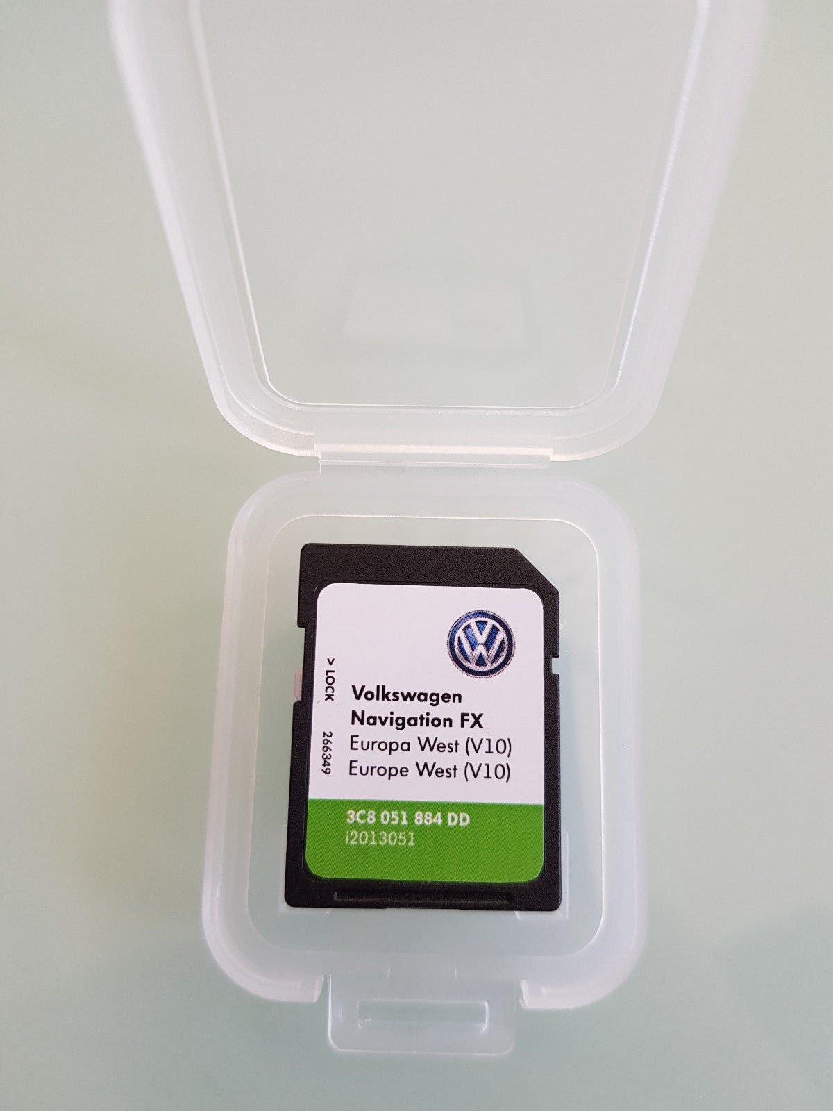 Carte SD GPS Europe 2018 V10 - RNS 310 (3C8051884DD) product image