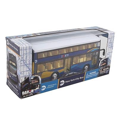 Daron Mta New York City Double Decker Bus 2020 New: Toys & Games