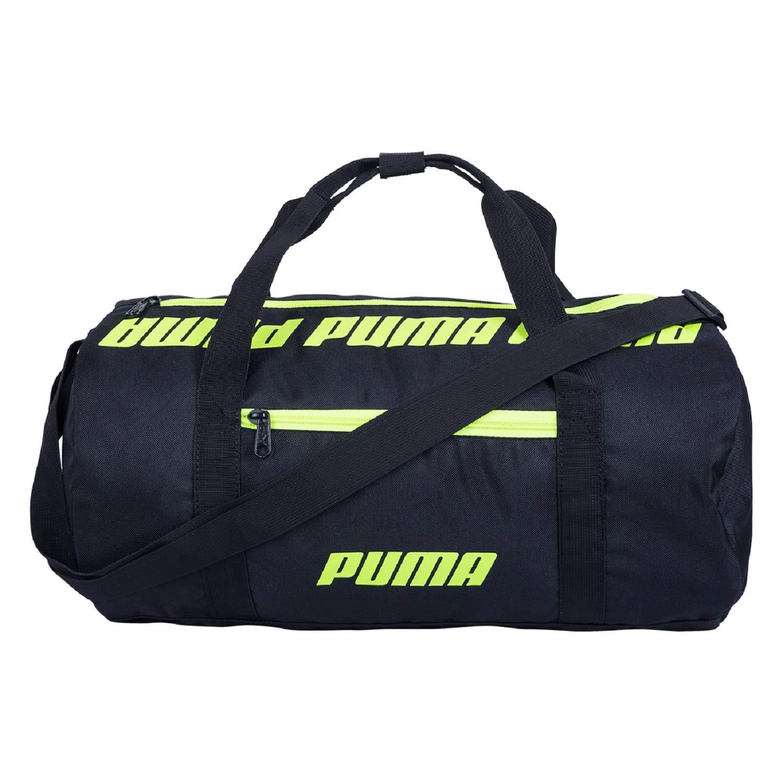 Puma 07616901 Black Core Barrel Bag S Sports Duffle Bag  Amazon.in  Bags faa602457c92c
