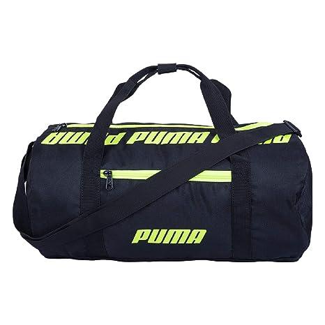 Puma 07616901 Black Core Barrel Bag S Sports Duffle Bag  Amazon.in  Bags 1c1a1580f38ca