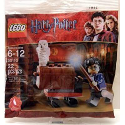 LEGO Harry Potter Minifigure Set - Trolly Polybag (30110): Toys & Games