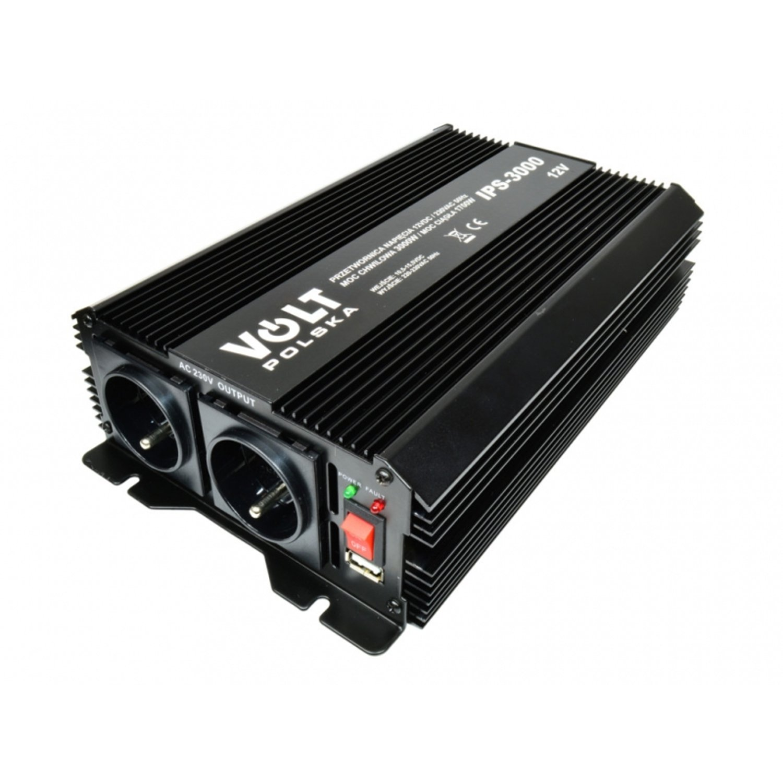 V IPS Voltaje Corriente corriente 3000 W/1700 W 12 V en 230 V