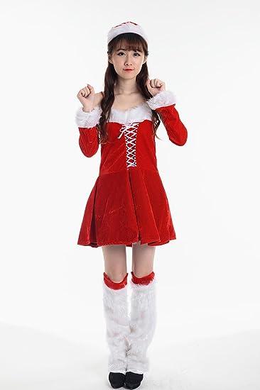 Frauen Weihnachten Kleider Weihnachtsfeier Kostüm Nettes ...