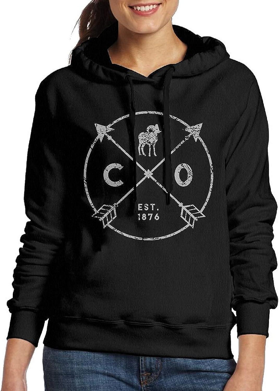 UUW66 Aries Woman Pullover Sweater Shirt Hoody Black